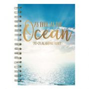Tallon A5 Wiro 2020-21 Mid-Year Academic Diary (Week  to View) - As Free as the Ocean